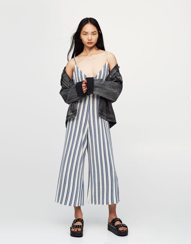 Jeansowa kurtka oversized