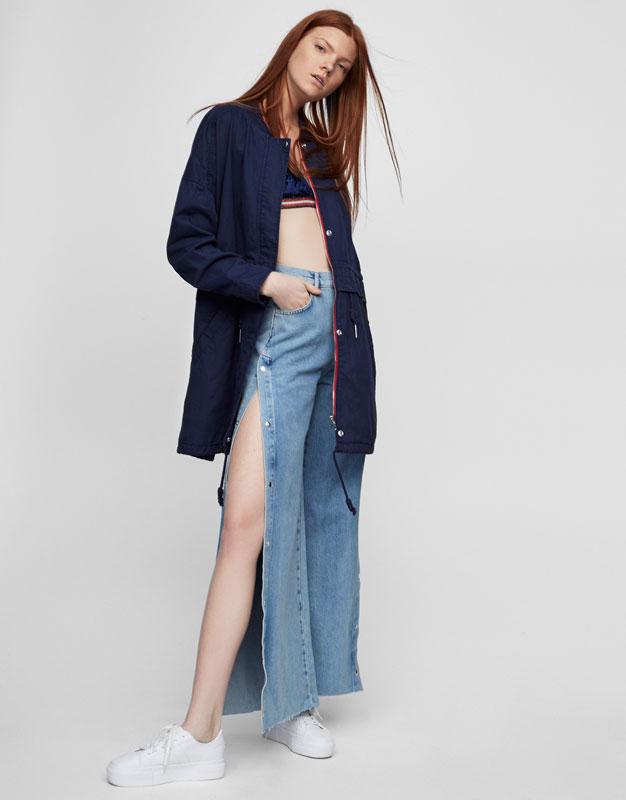 Womens long leather coats sale – Modern fashion jacket photo blog