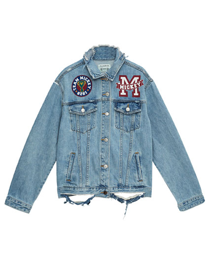 Mickey Mouse denim jacket