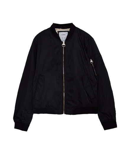 Basic bomber jacket