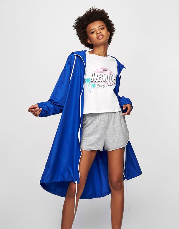 Sporty raincoat