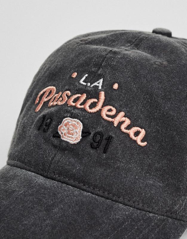 Pasadena embroidered cap