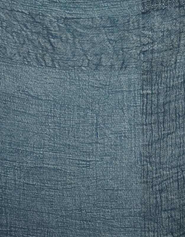 Foulard bord effiloché