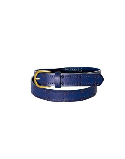 Cut work belt