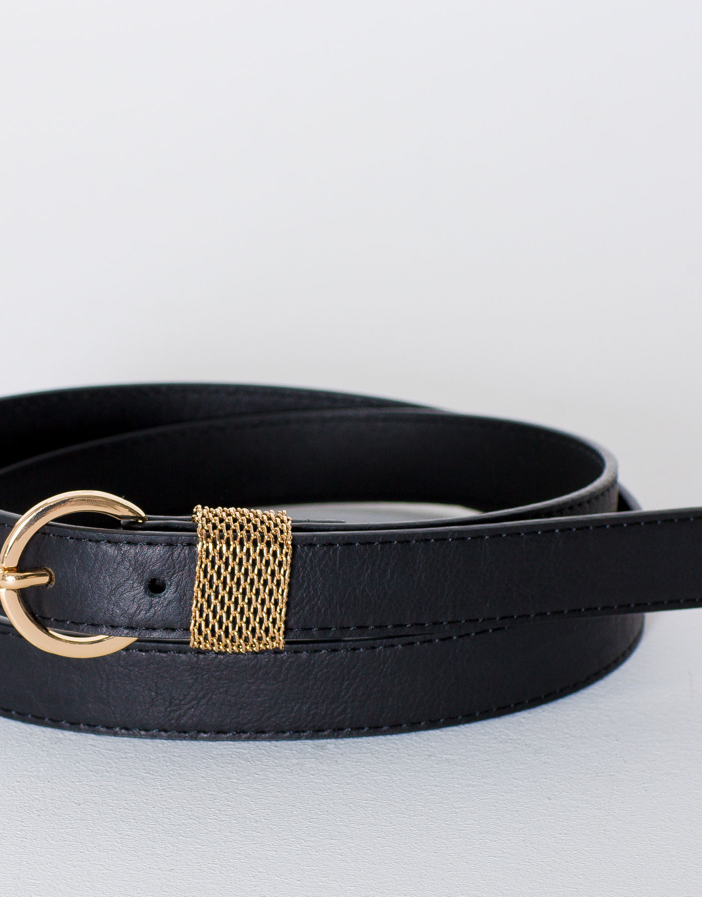 Metallic mesh belt