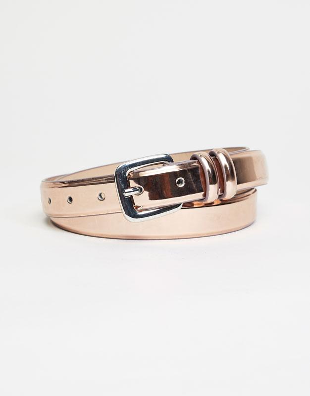 Metallic-Gürtel
