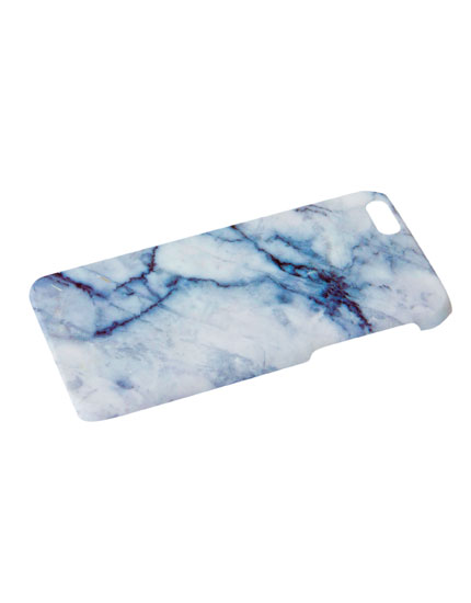 Marble effect mobile cover