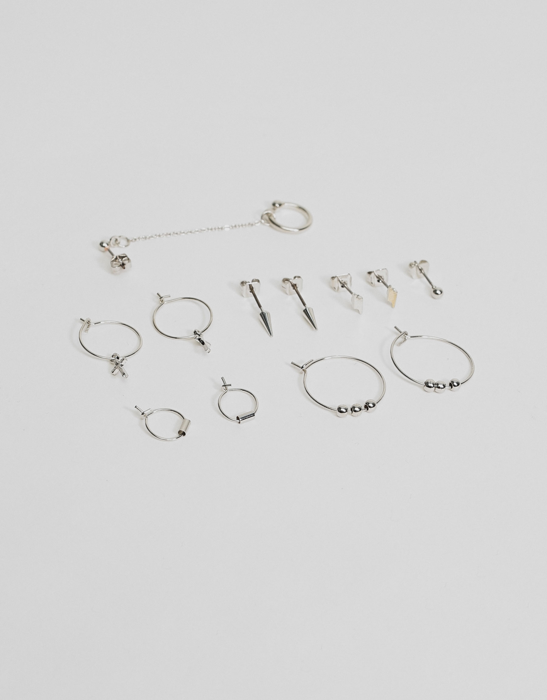 6-Pack of earcuff earrings