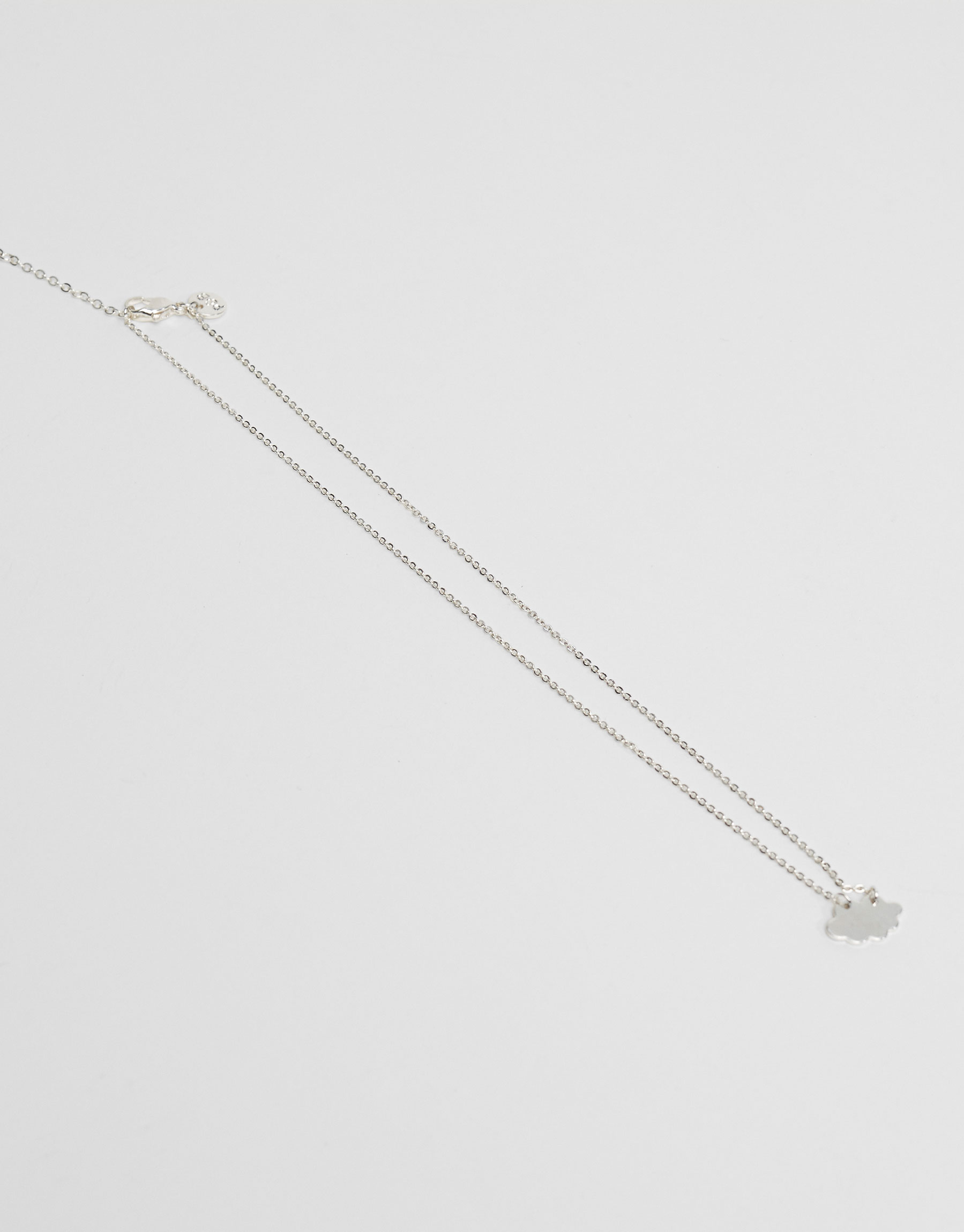 Thin cloud necklace