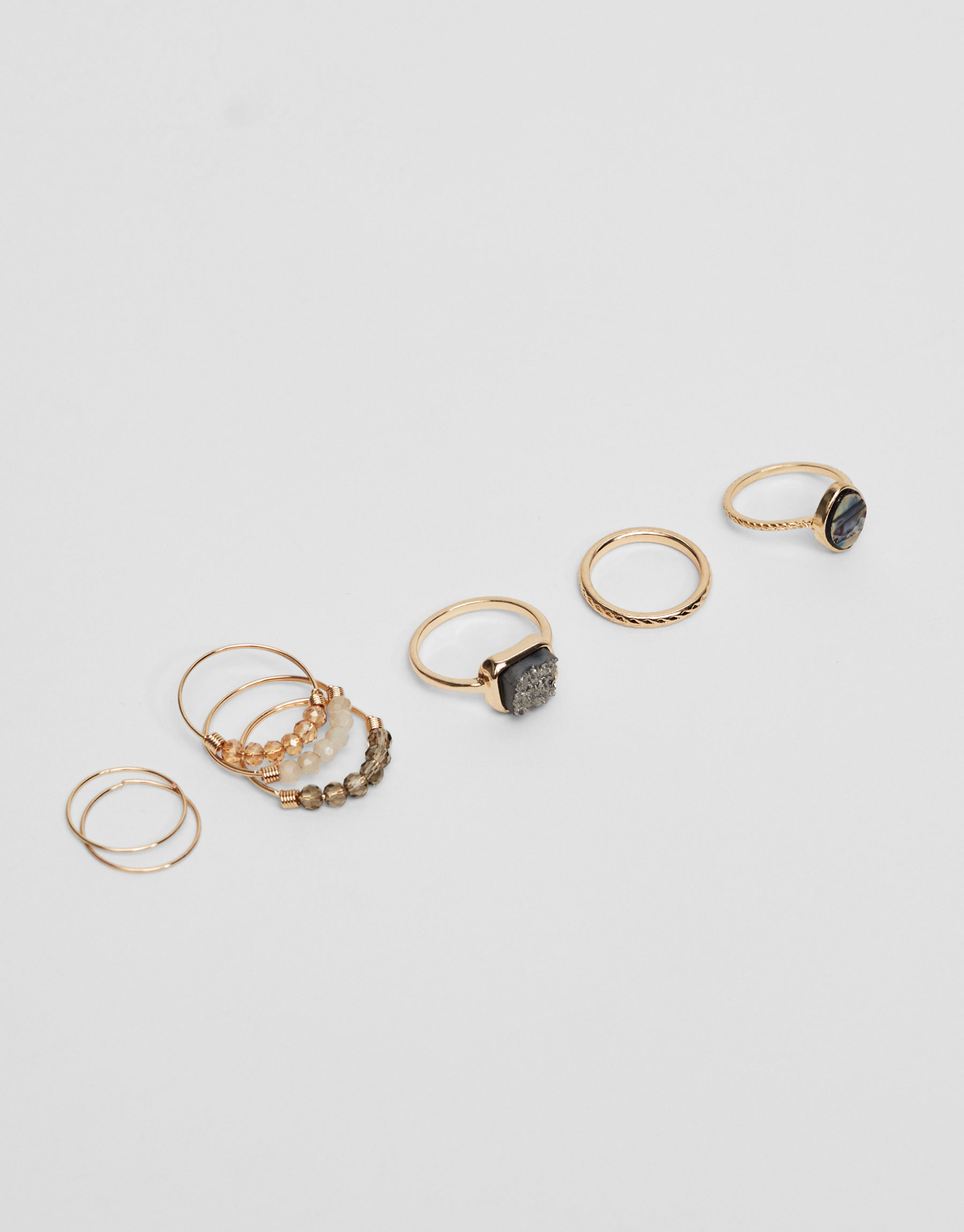 8-pack of rings
