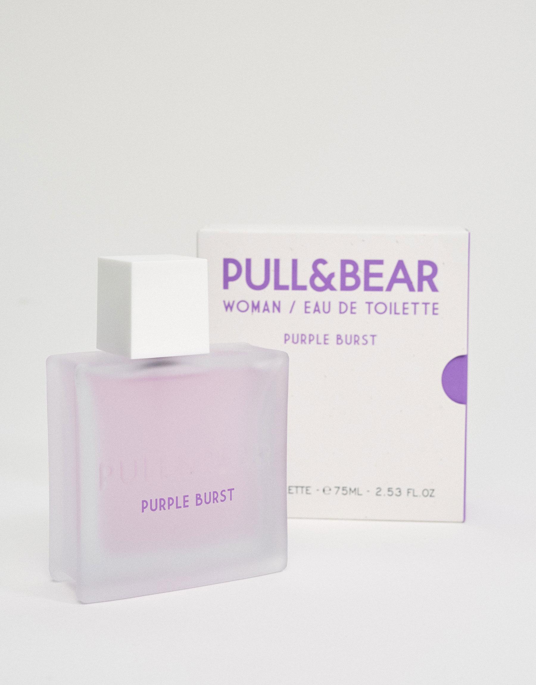 Pull & bear purple burst eau de toilette 75 ml