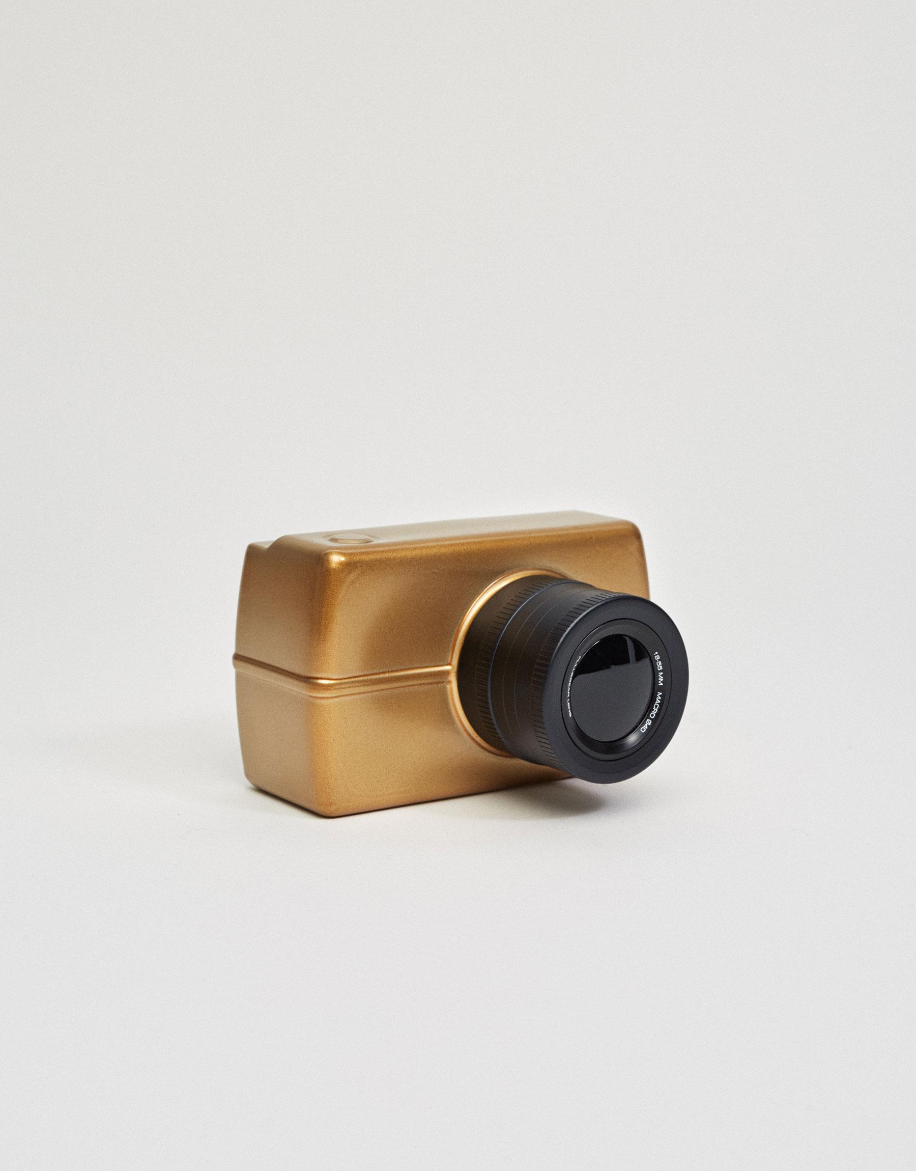 Pull & bear shot gold eau de cologne
