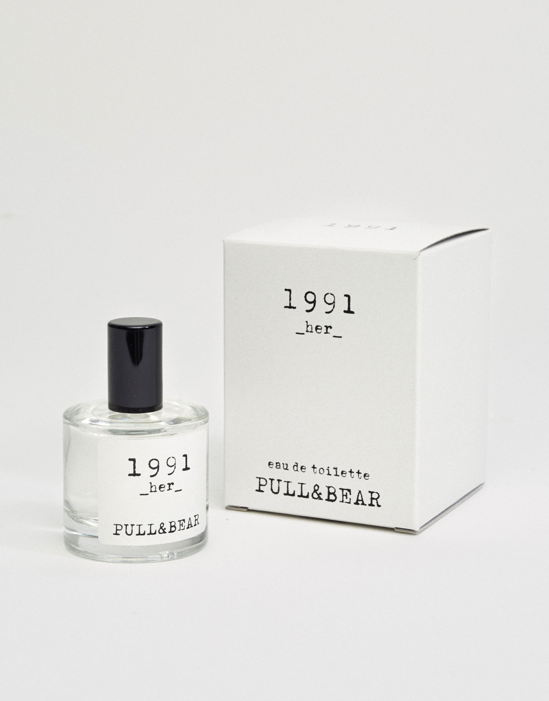 Eau de toilette pull & bear 1991 her 30ml