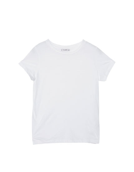 Basic round-neck t-shirt
