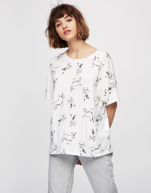 Dogs all over T-shirt