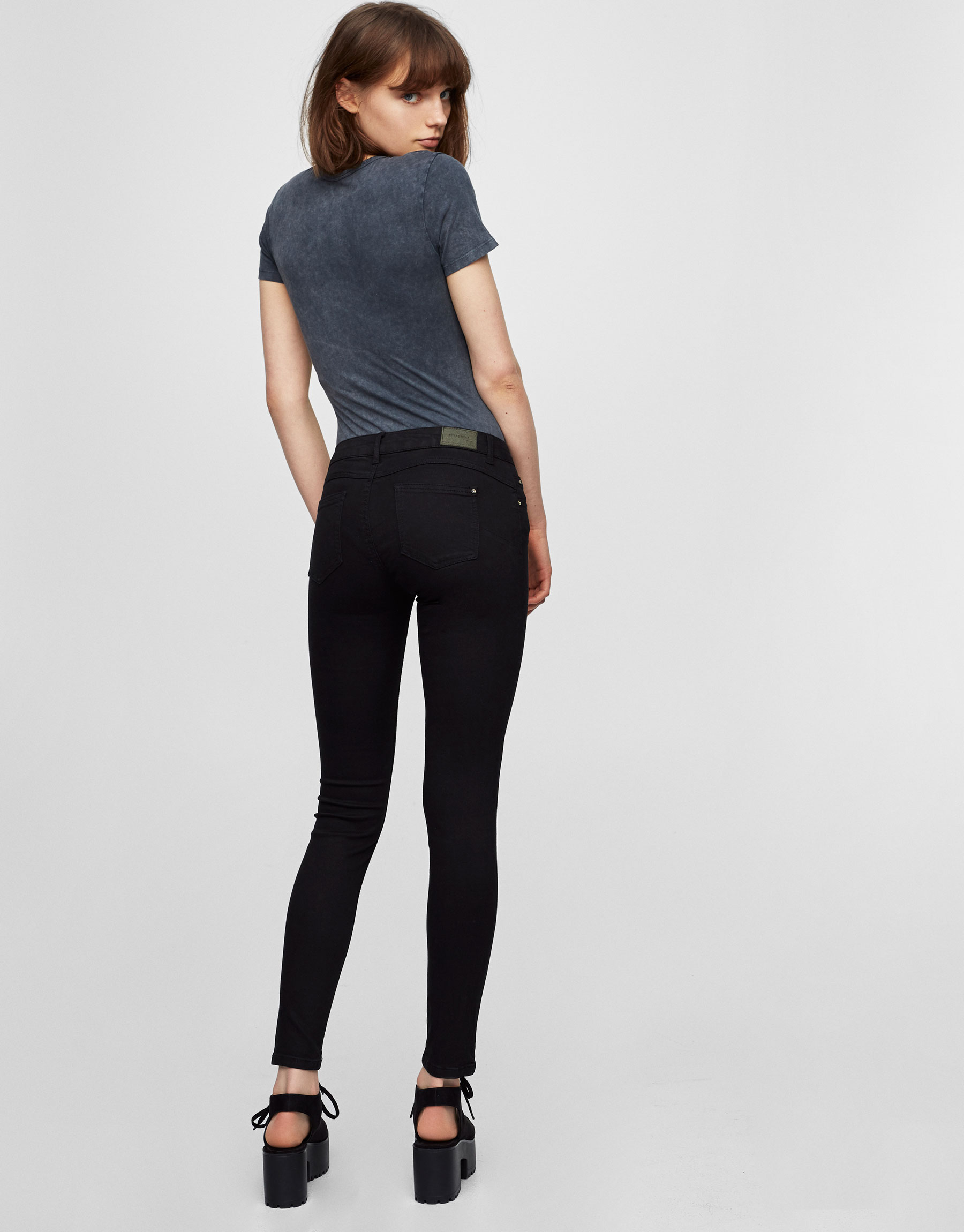 Skinny push-up jeans