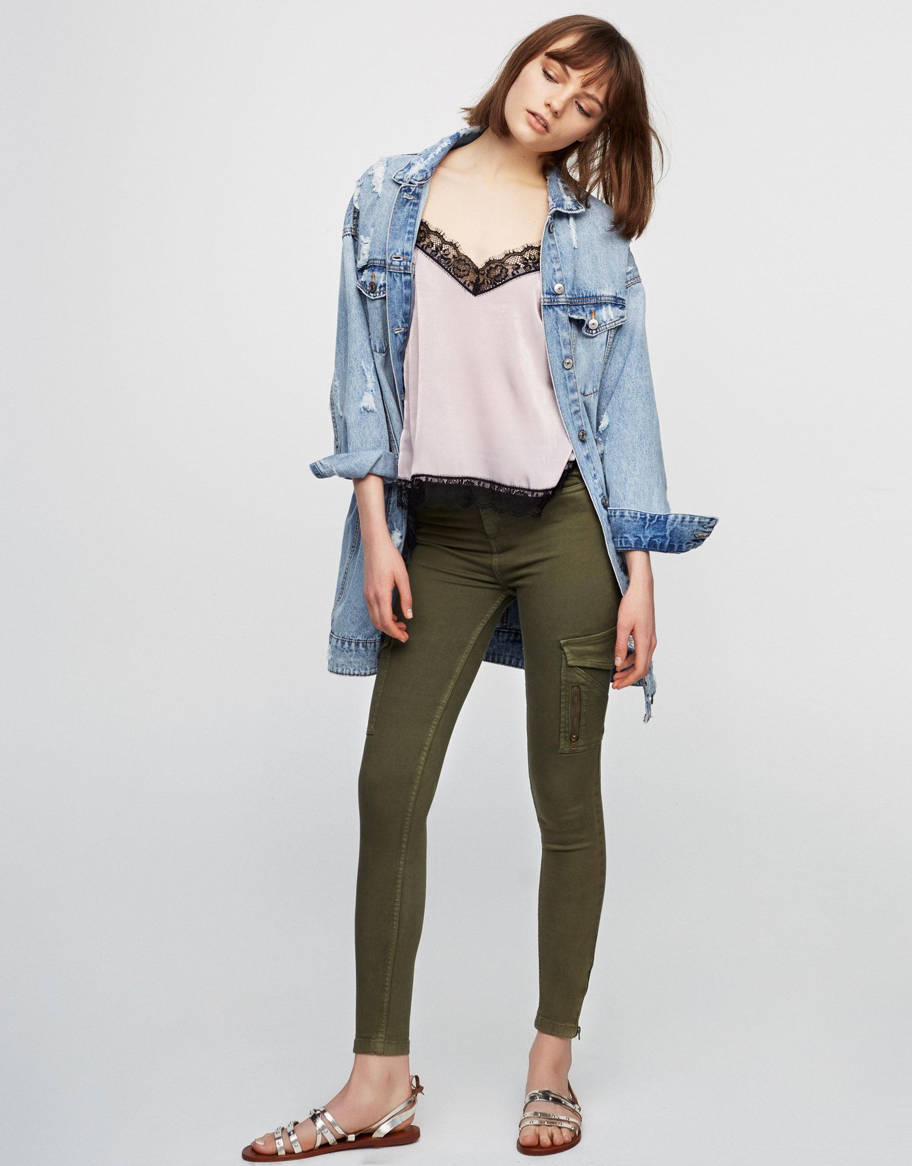 Pantalons skinny de butxaques
