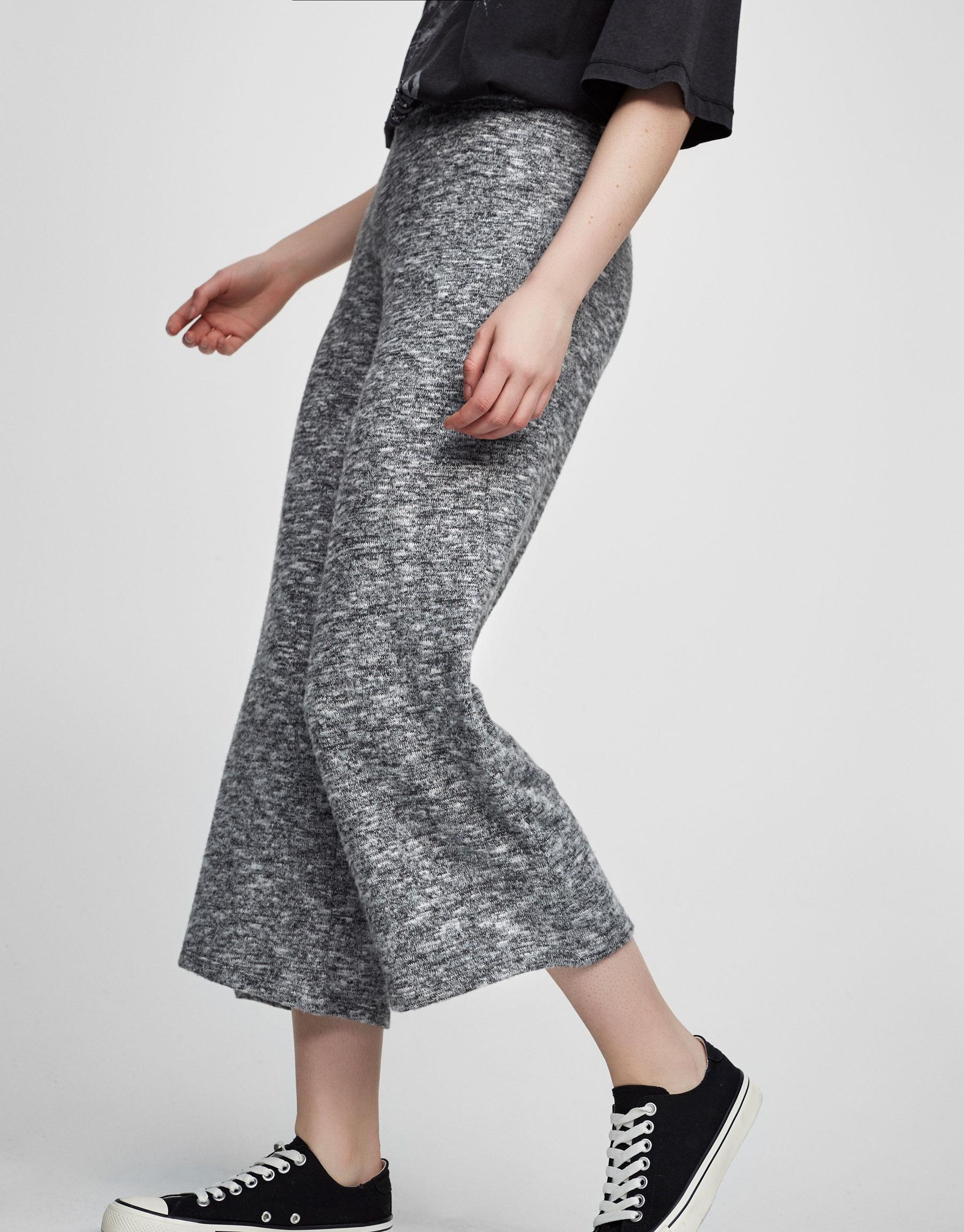 Knit culottes