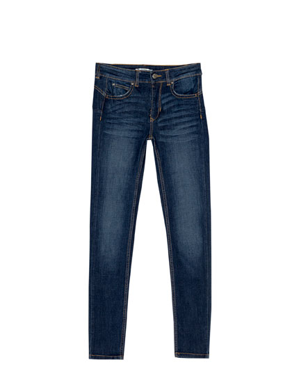 Jean push up taille normale