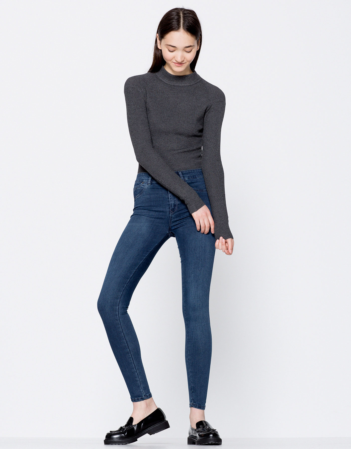 Second-skin jeans