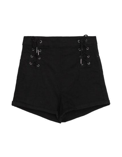 Pantalons curts tipus corsari