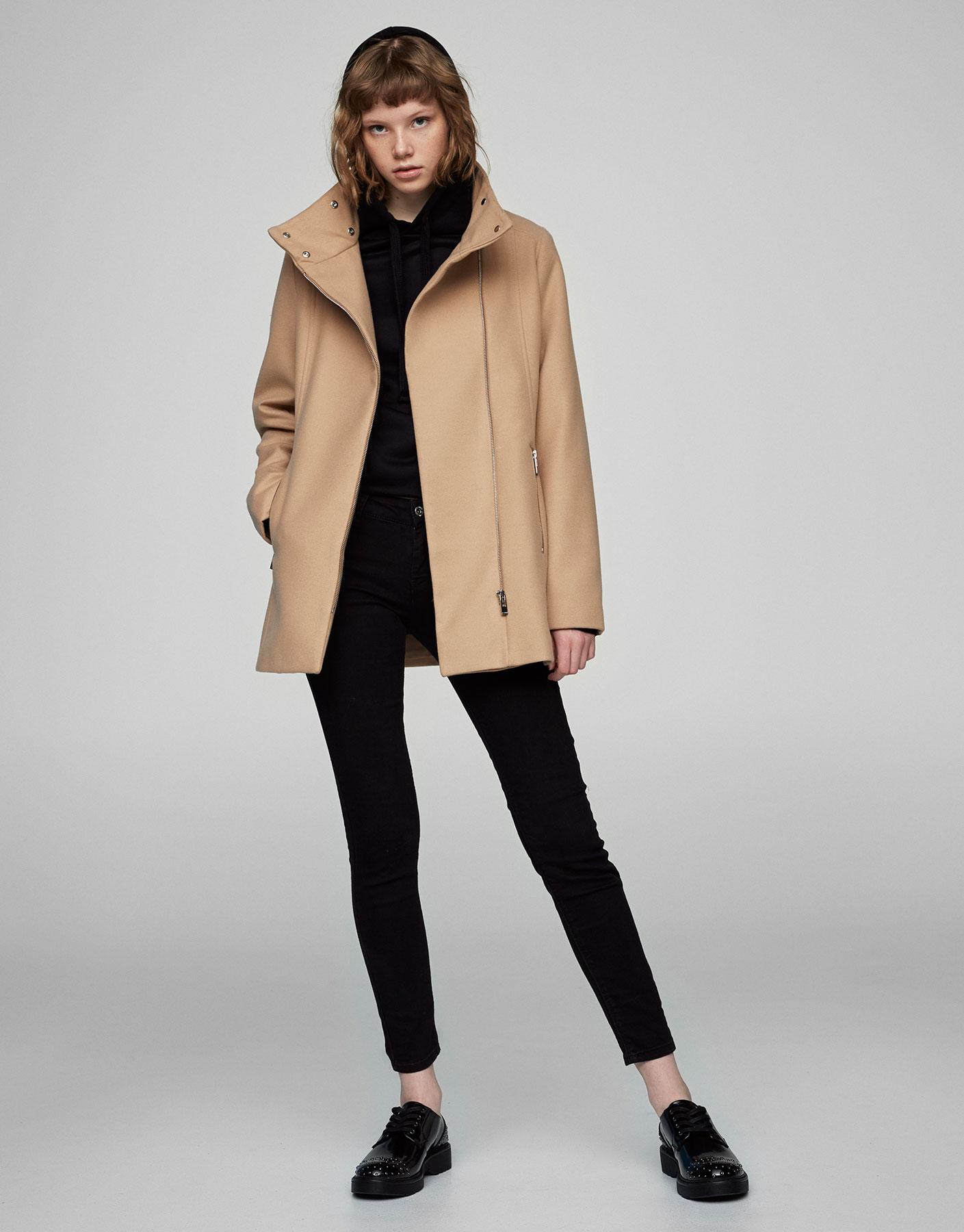 Basic cloth coat