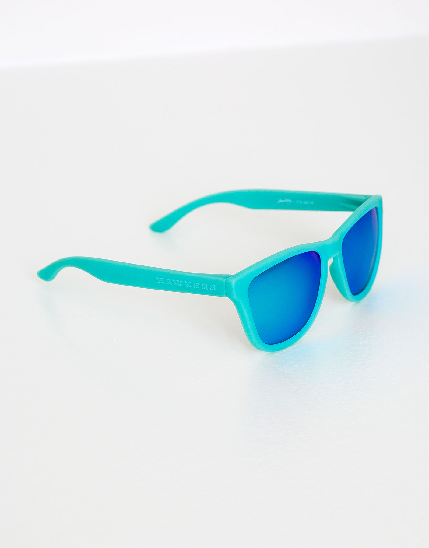 Lunettes de soleil hawkers turquoise clear blue one