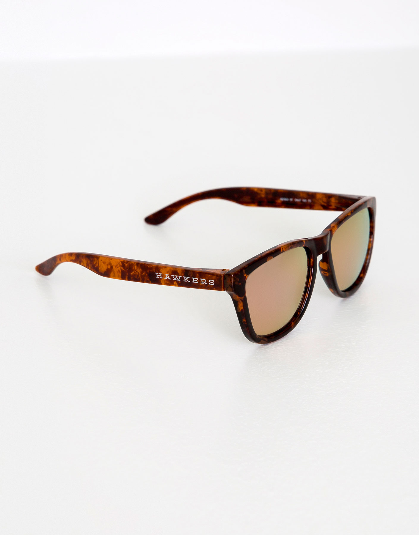 Hawkers tortoiseshell rose gold one sunglasses