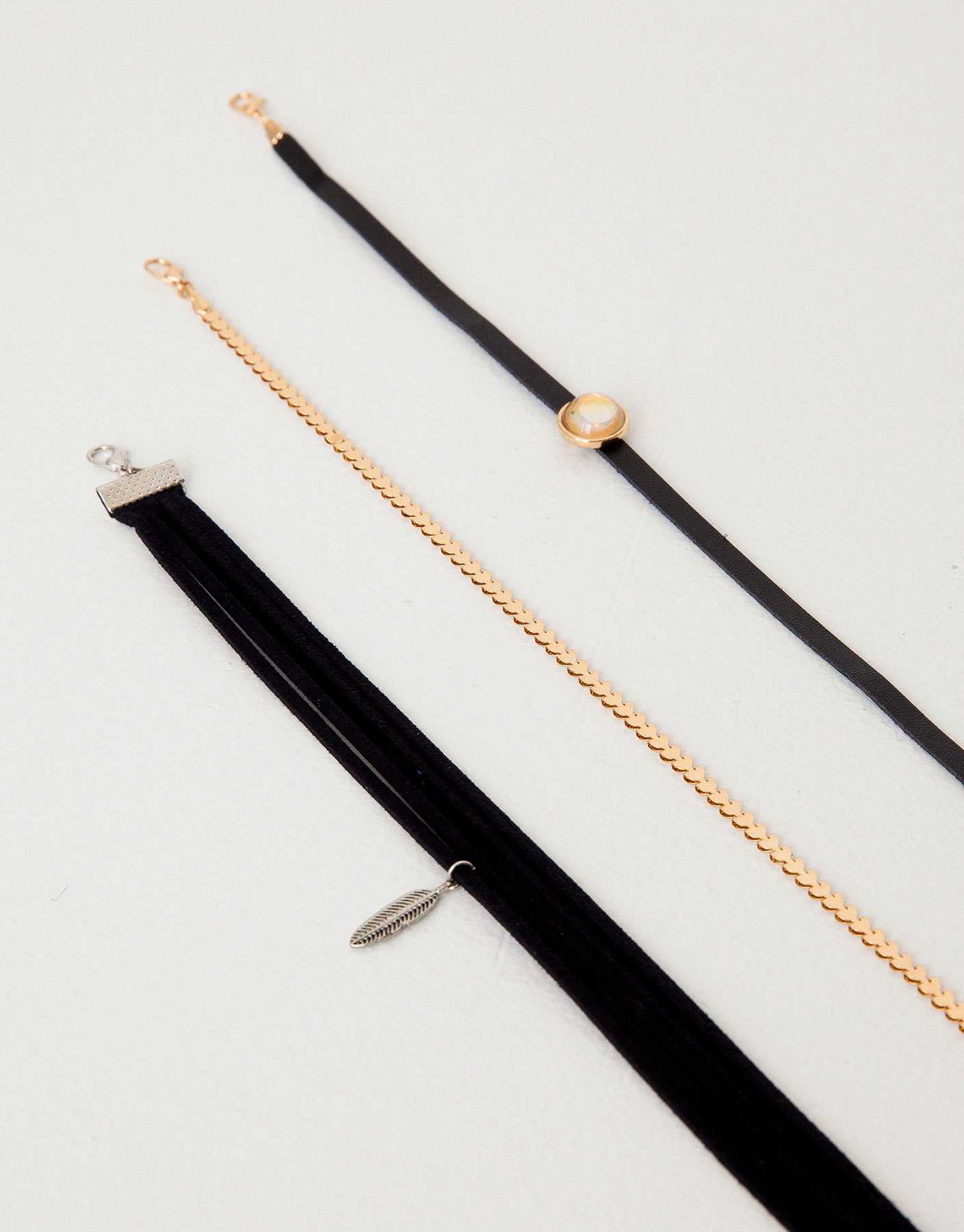 Pack of 3 chokers