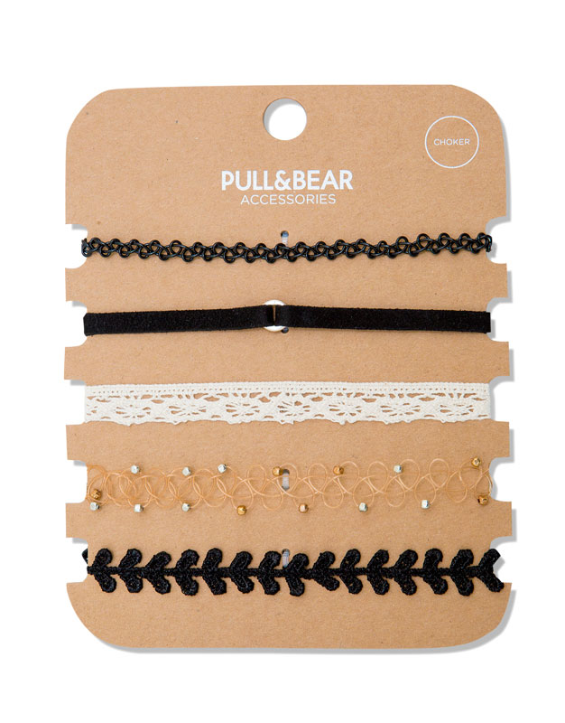 Pack of 5 chokers