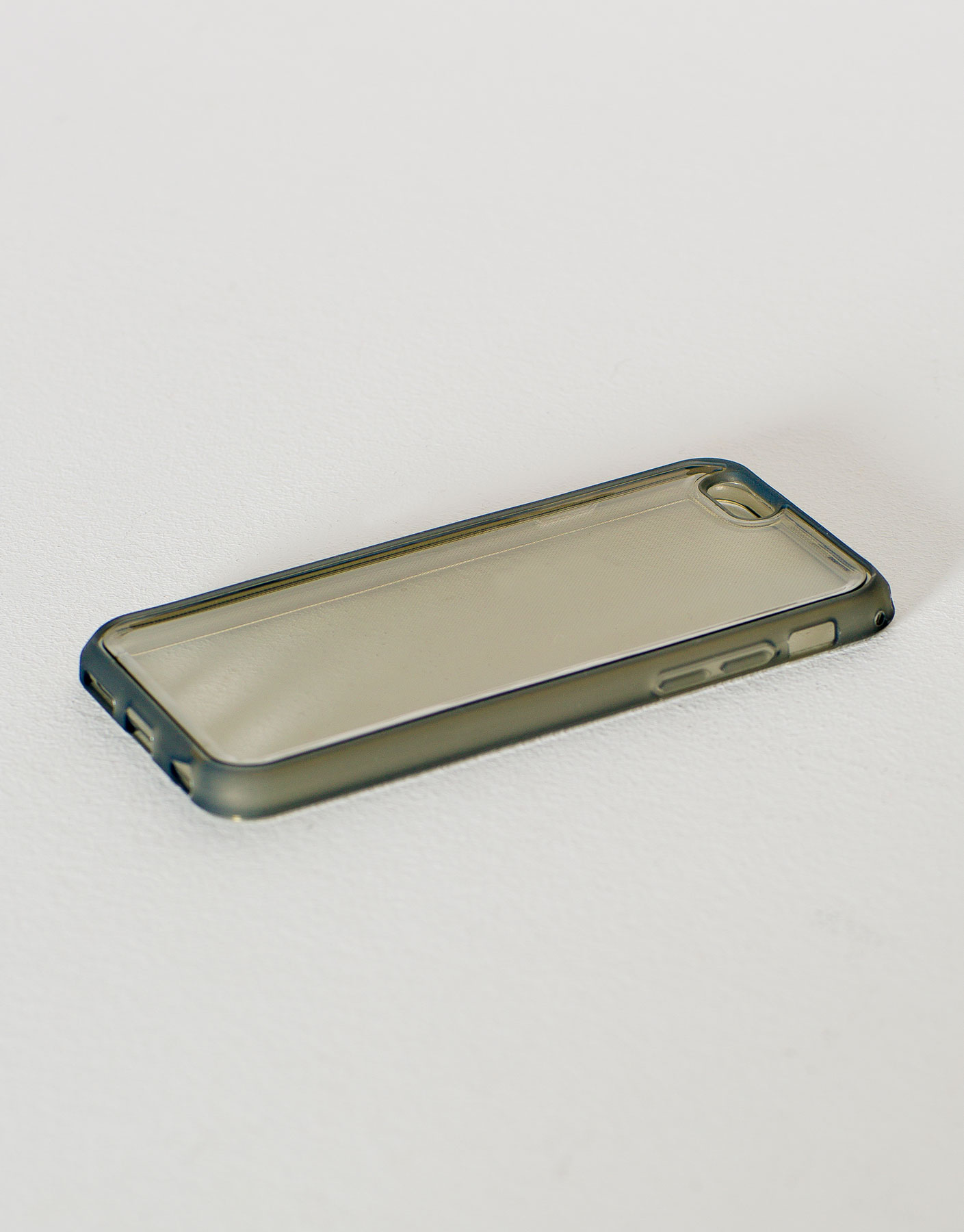Transparent neon case