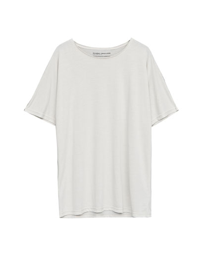 Seamless sleeve T-shirt
