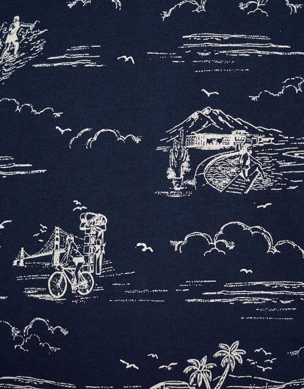 Allover print T-shirt