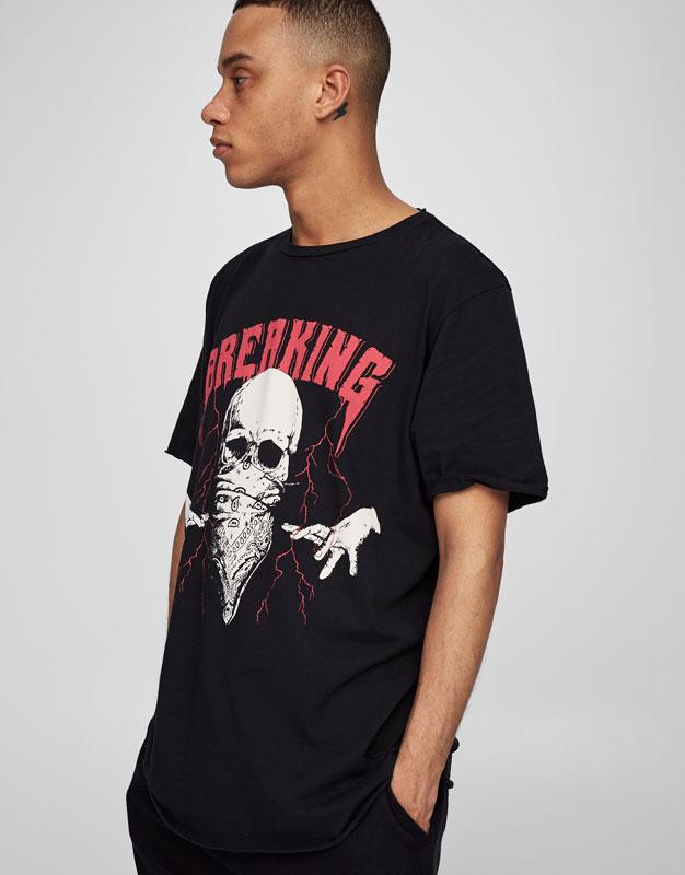 Black darkmetal t-shirt