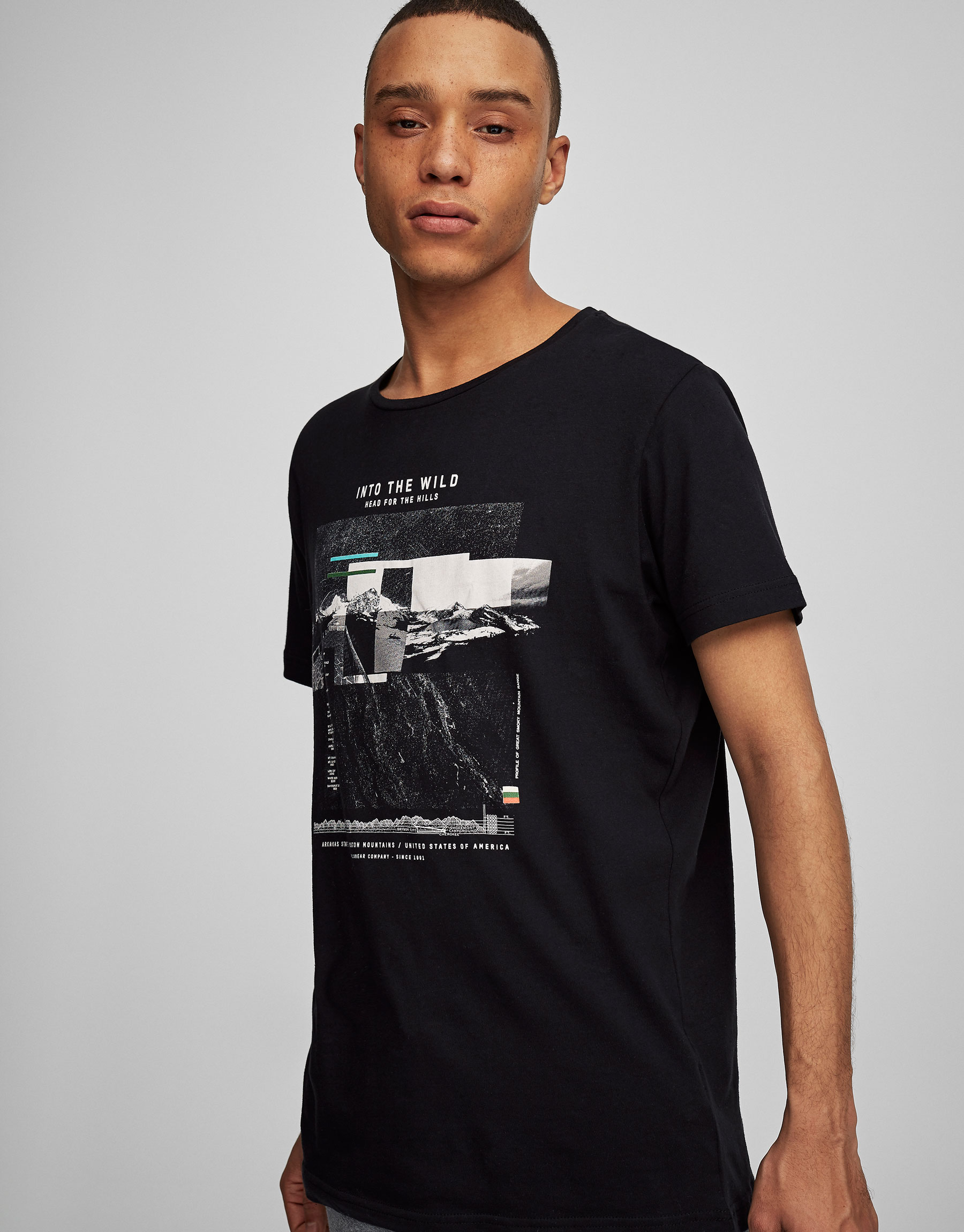 'Into the wild' print T-shirt