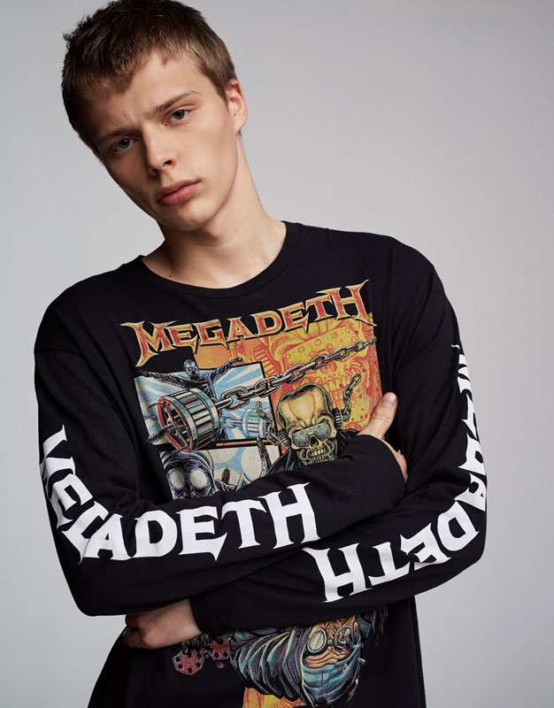 Megadeth long sleeve top