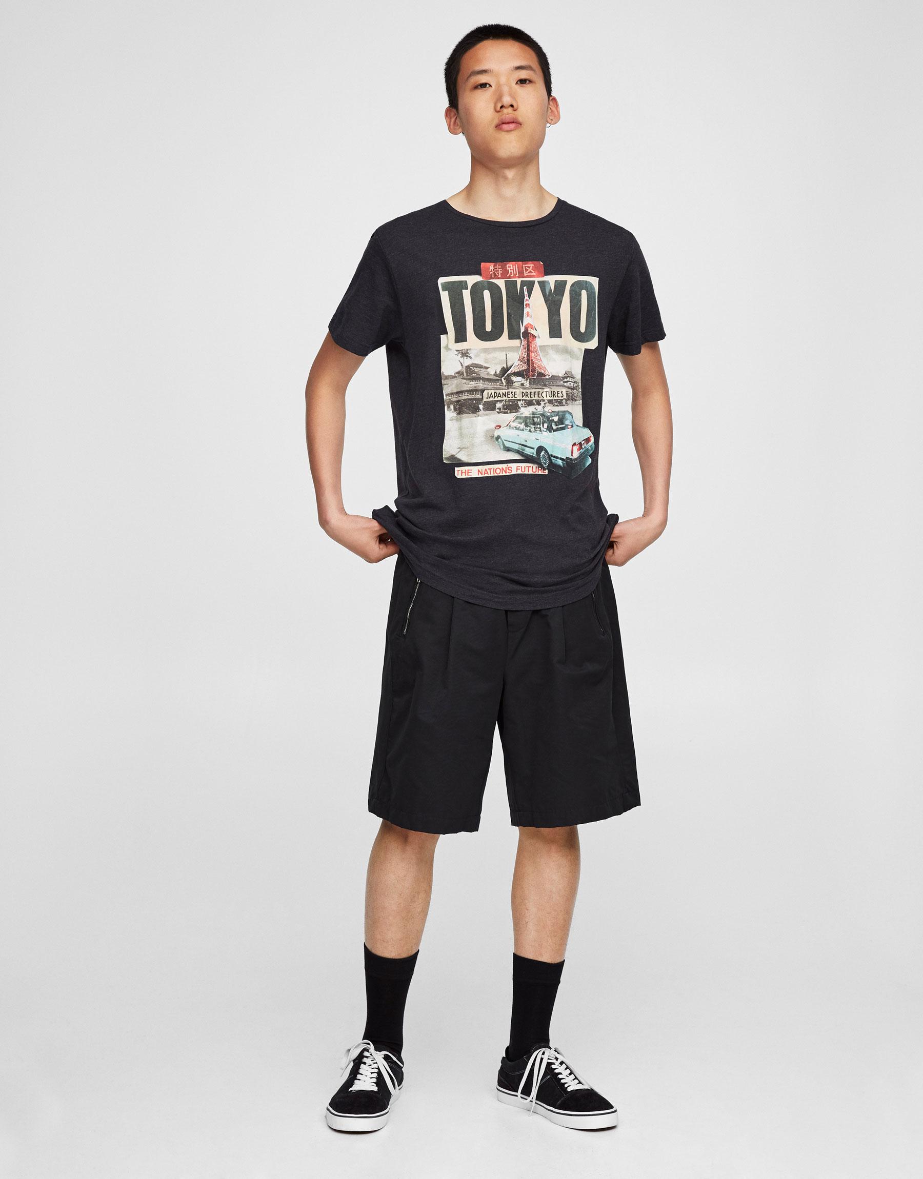 Tokyo print T-shirt