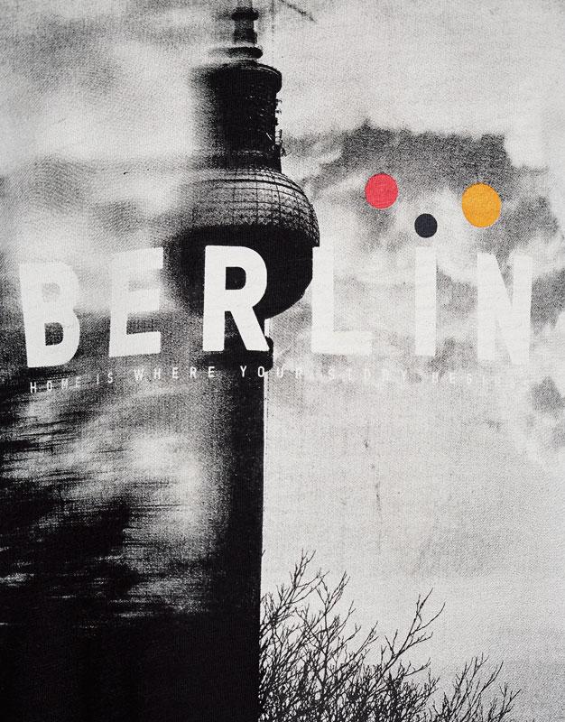 Berlin photo print T-shirt