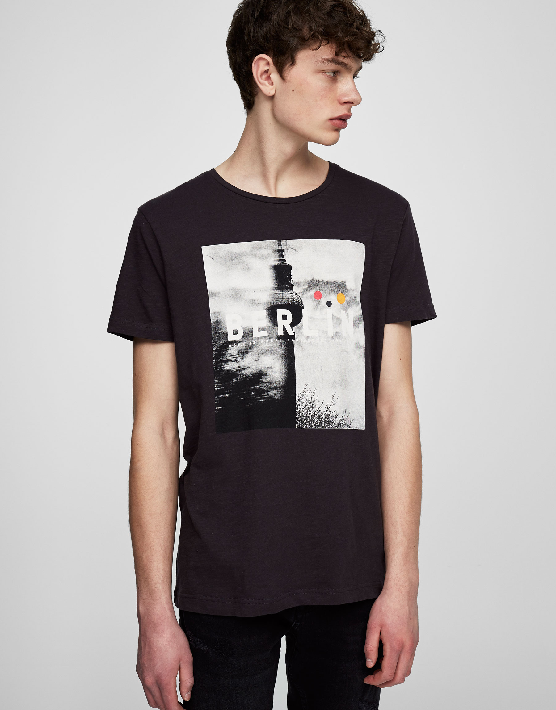Berlin photo print T-shirt