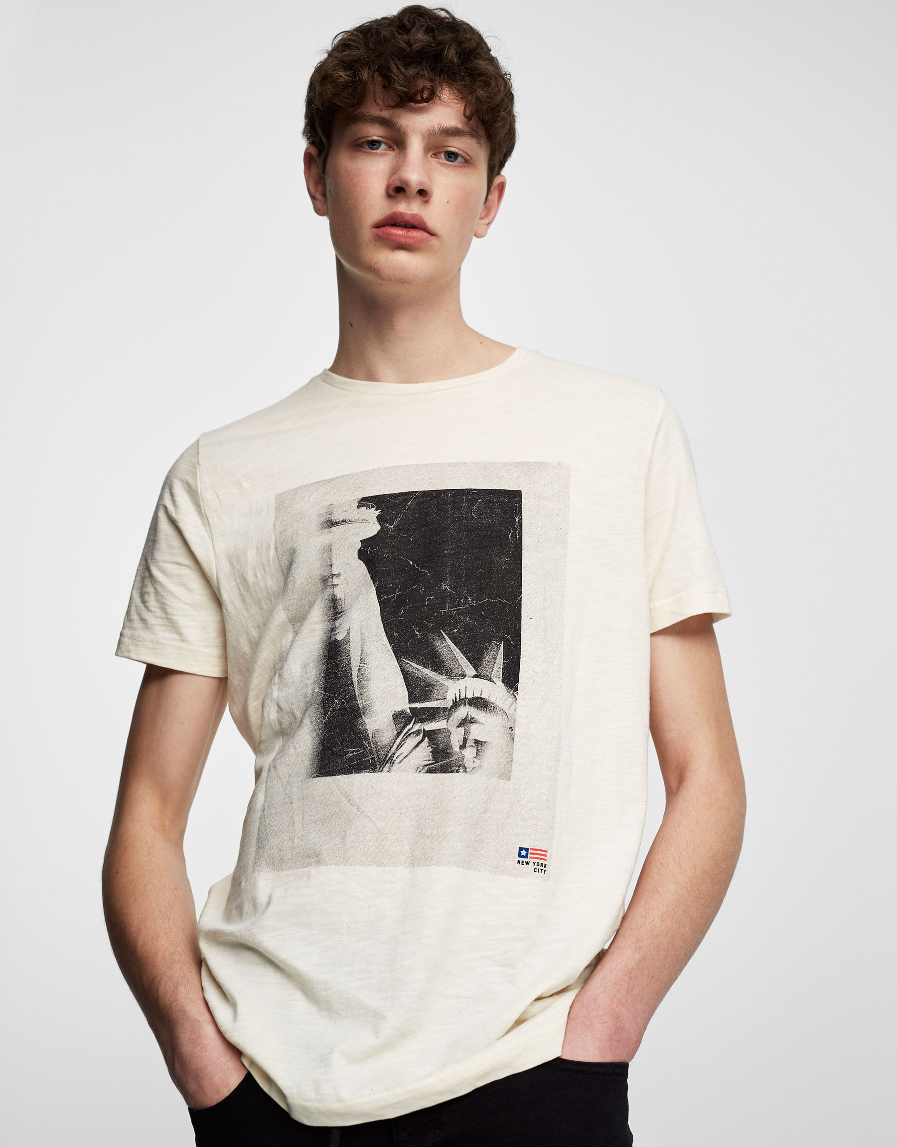 Statue of Liberty photo print T-shirt