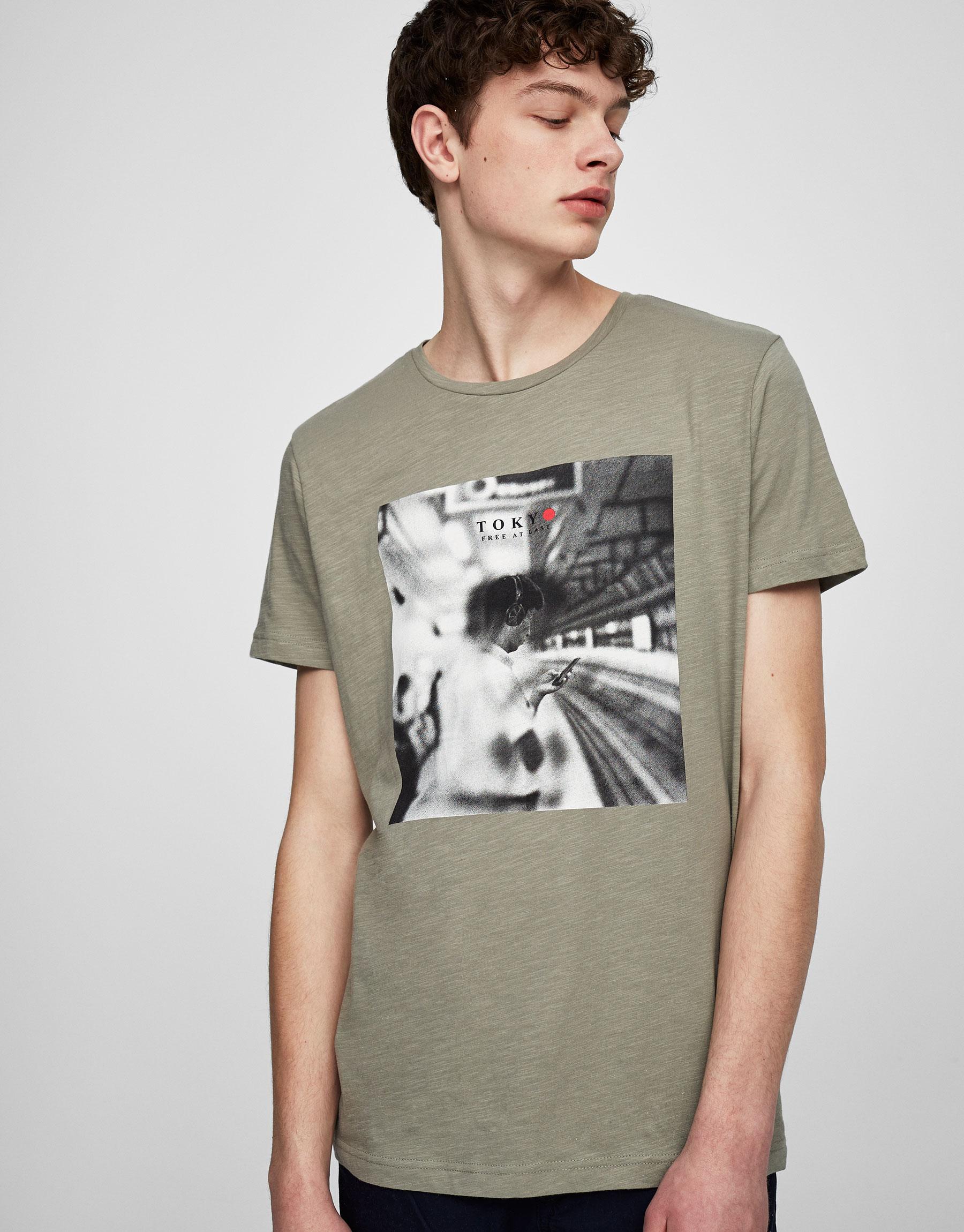 Tokyo photo print T-shirt