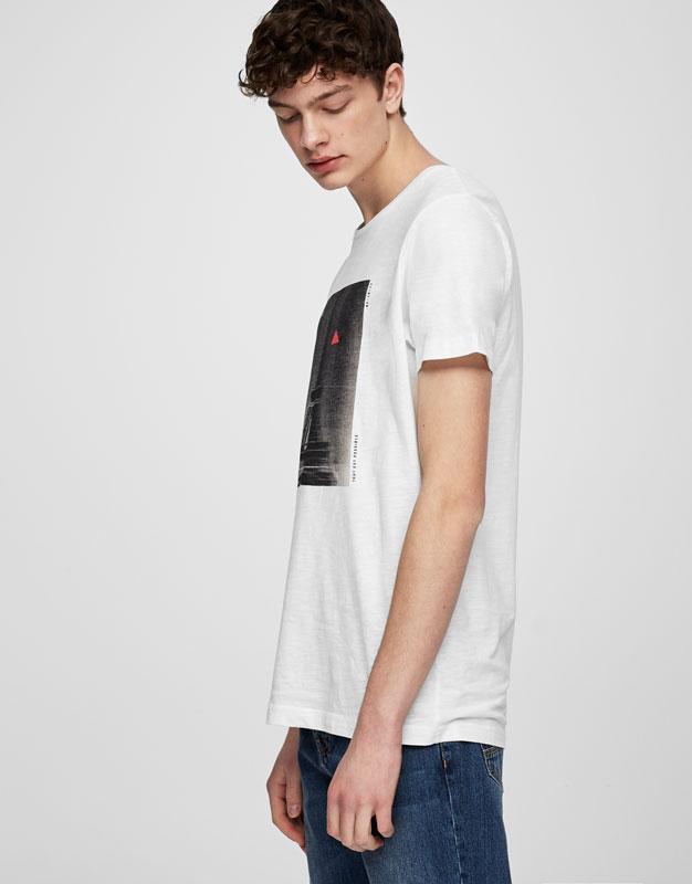 Paris photo print T-shirt