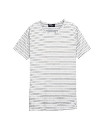 Jacquard nautical stripe t-shirt