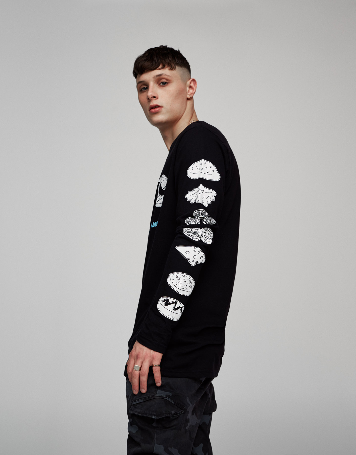 Long sleeve NYC top
