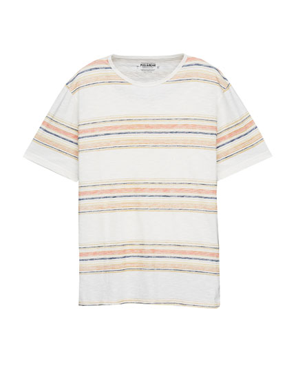 Striped bands T-shirt