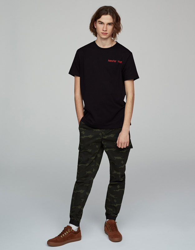 Chinese New Year text T-shirt