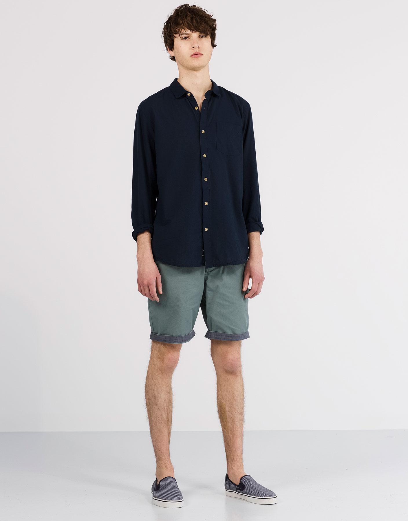 Basic voile shirt