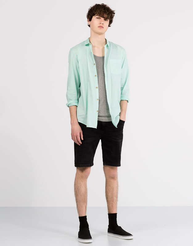Basic voile shirt