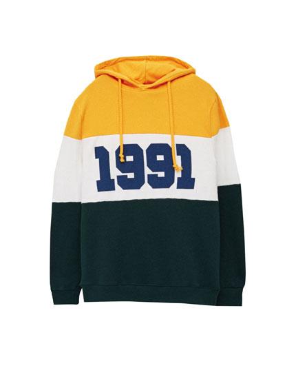 PB 1991 hooded sweatshirt