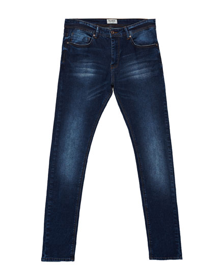 Jeans superskinny fit azul